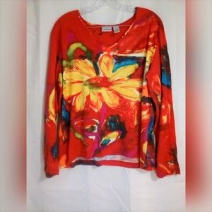 Chico's Tops - Chico's Women's Top Sz 3 or XL Multi Floral